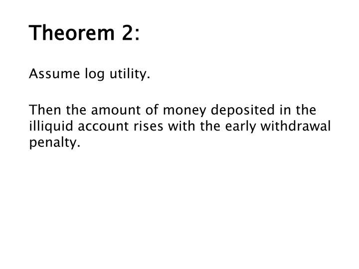 Theorem 2: