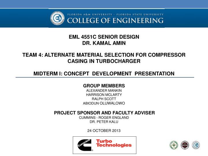 EML 4551C SENIOR DESIGN