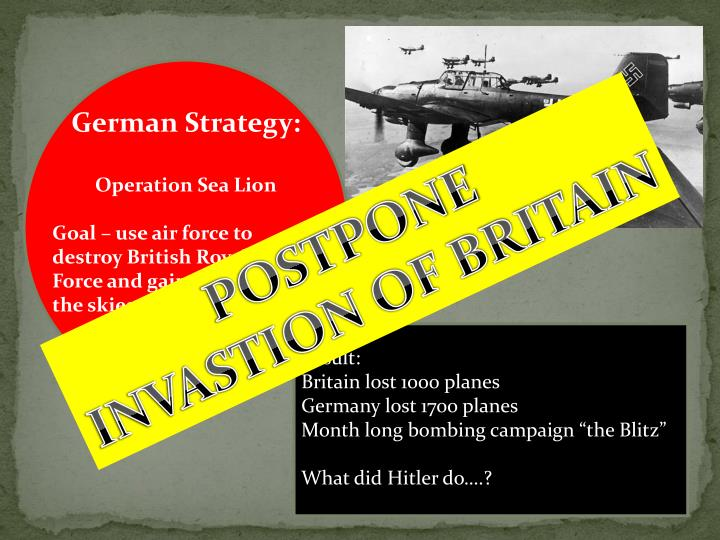 German Strategy: