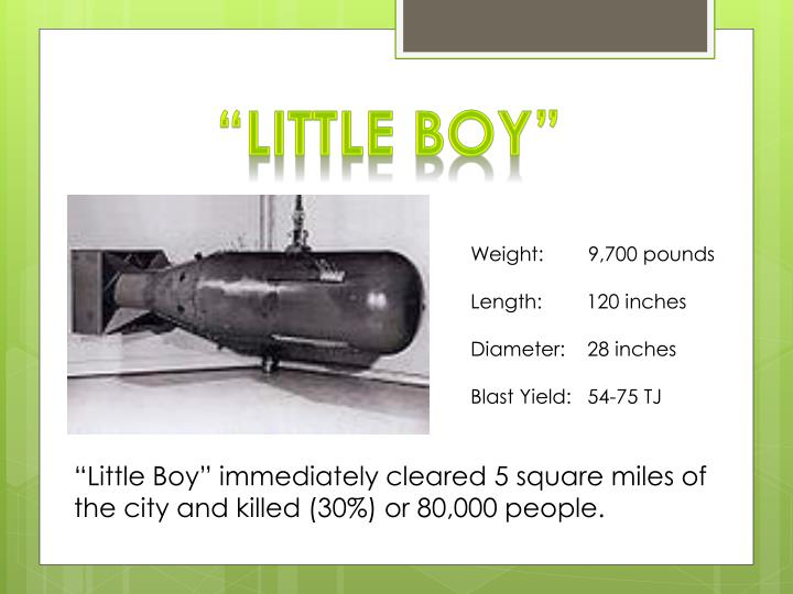 """Little Boy"""
