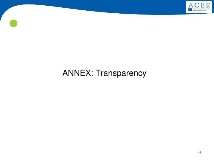 ANNEX: