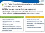 vi 1 public consultation on compliance with regulation 715 2009 state of the art1