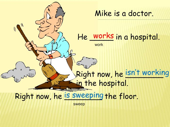 Mike is a doctor.