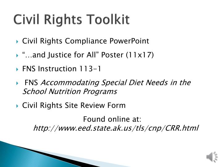 Civil Rights Toolkit