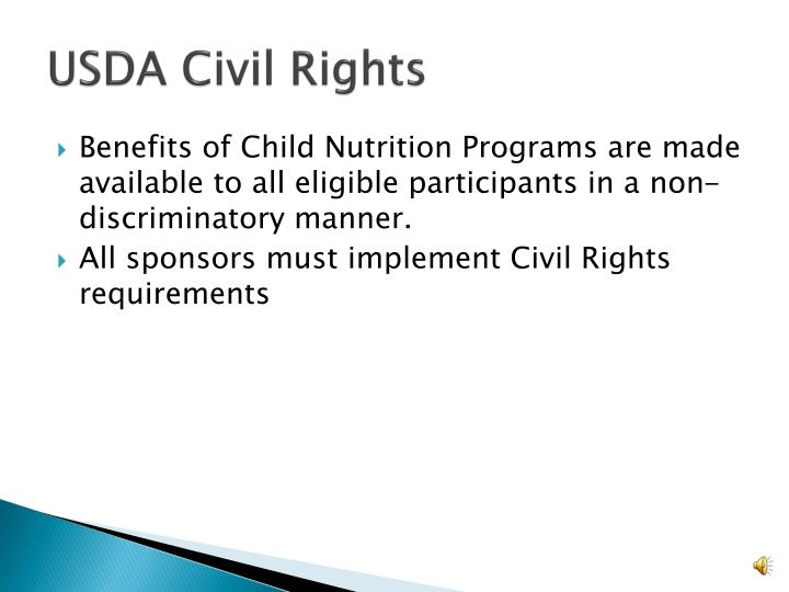 Usda civil rights
