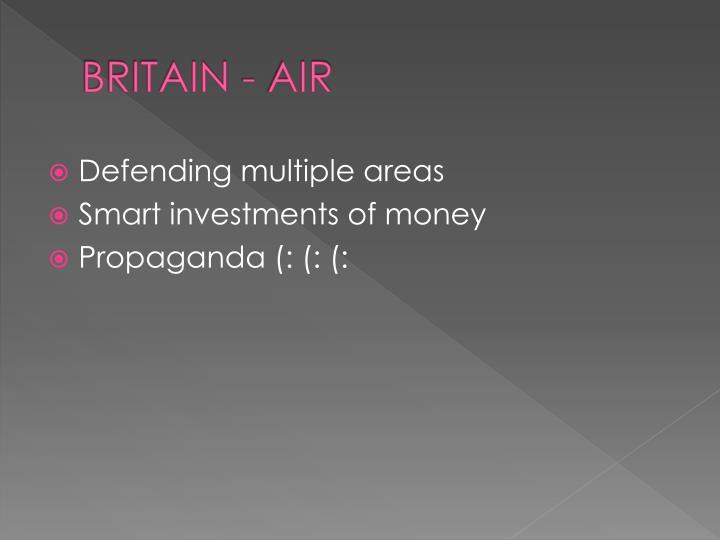 BRITAIN - AIR
