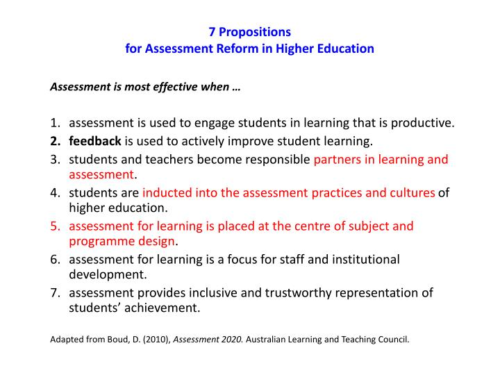 7 Propositions
