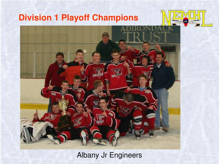 Division 1 Playoff Champions
