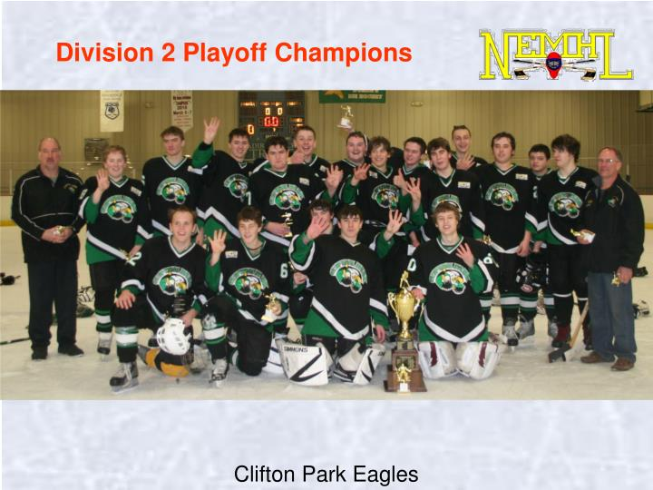 Division 2 Playoff Champions