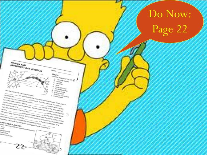 Do Now:  Page 22