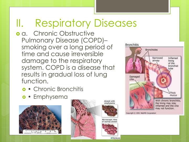 II.Respiratory Diseases