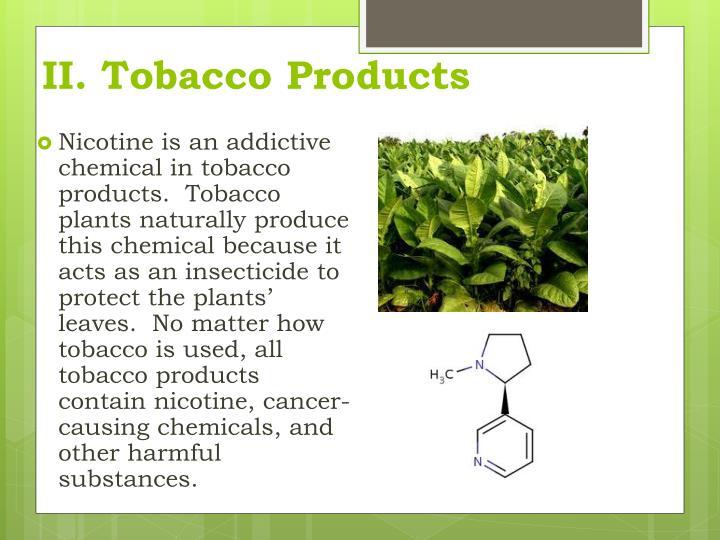II. Tobacco