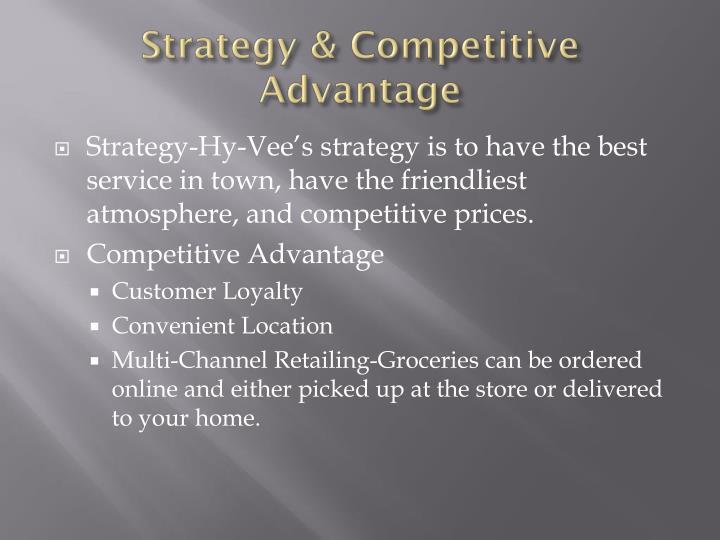 Strategy & Competitive Advantage