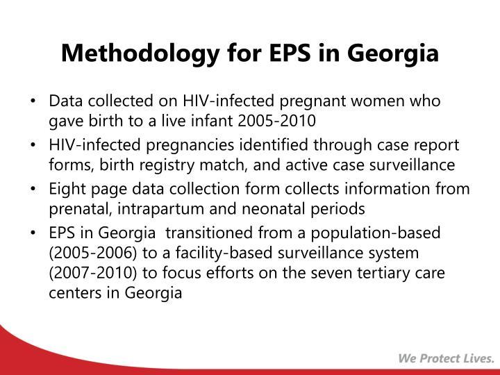Methodology for EPS in Georgia