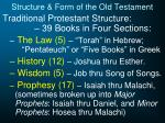 structure form of the old testament2