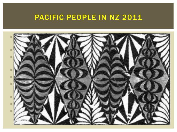 Pacific people in