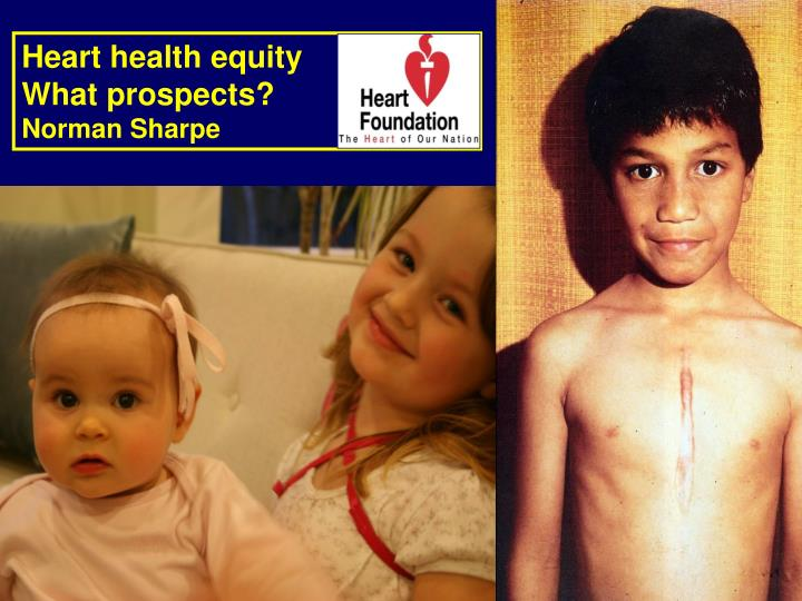 Heart health equity
