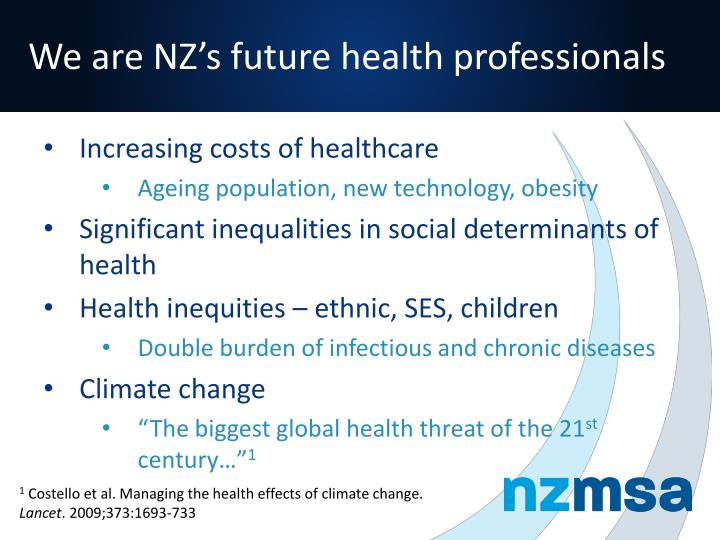 We are NZ's future health professionals