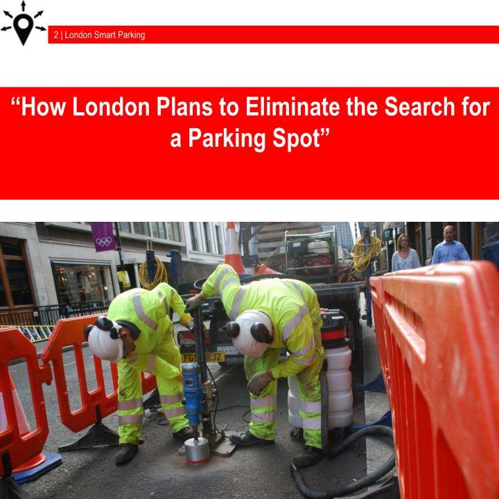 2 | London Smart Parking