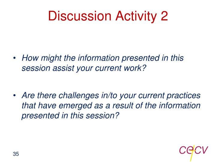 Discussion Activity 2