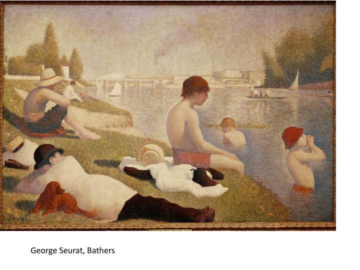George Seurat, Bathers