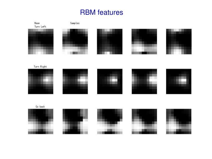 RBM features