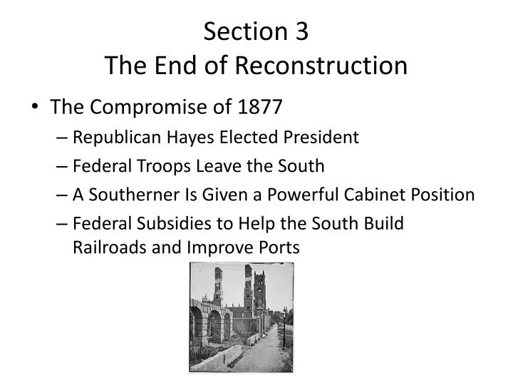 successes and failures of reconstruction South carolina history homepage 8-53 summarize the successes and failures of reconstruction in south carolina, including the creation of political.