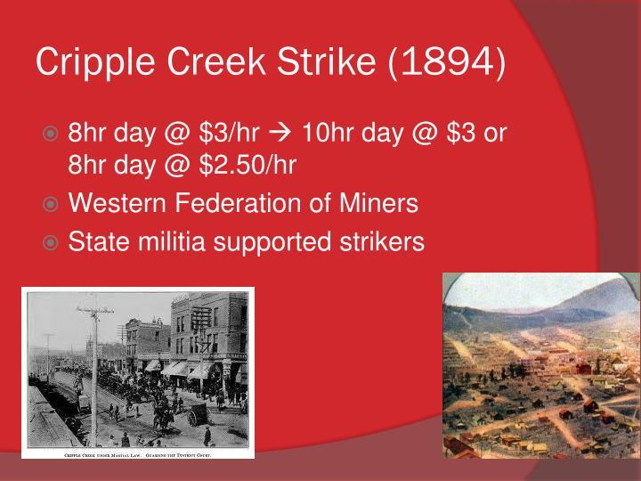 Cripple Creek Strike (1894)