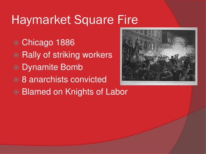 Haymarket Square Fire