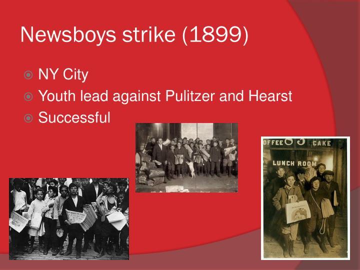 Newsboys strike (1899)