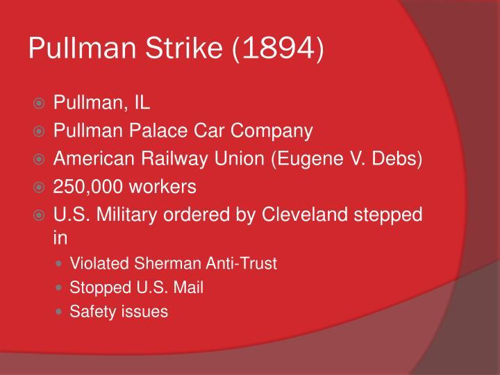Pullman Strike (1894)