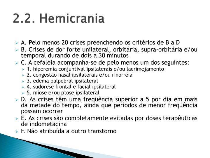 2.2. Hemicrania