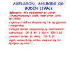 axelsson ahlborg og bodin 1996