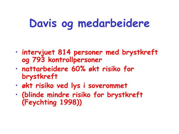 Davis og medarbeidere