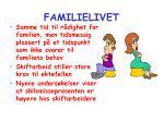 familielivet