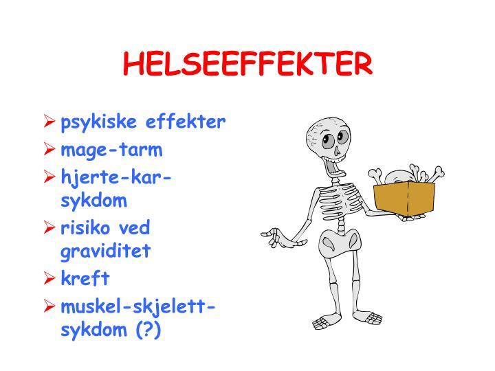 HELSEEFFEKTER