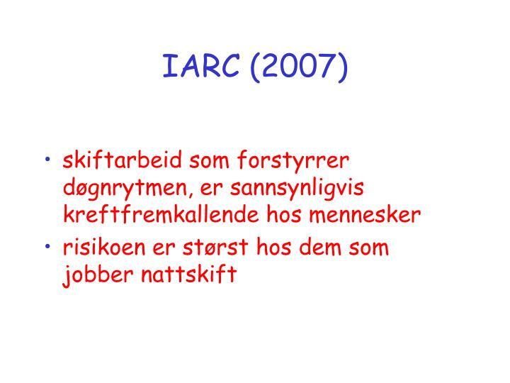 IARC (2007)