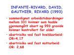 infante rivard david gauthier rivard 1993