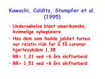 kawachi colditz stampfer et al 1995