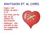 knutsson et al 1985