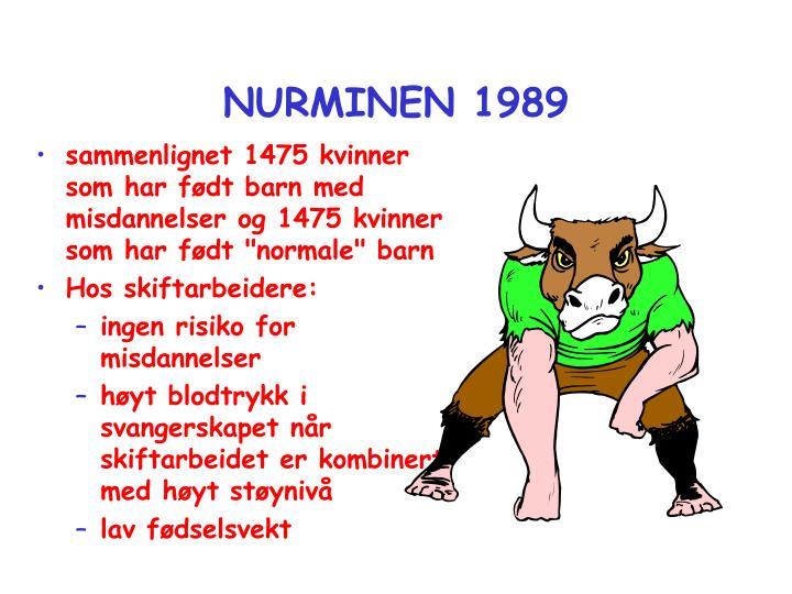 NURMINEN 1989