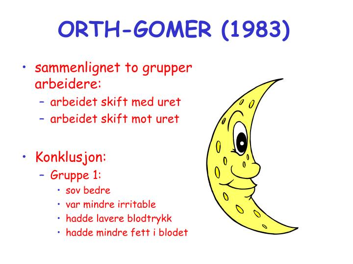 ORTH-GOMER (1983)