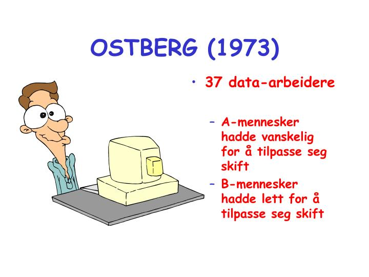OSTBERG (1973)