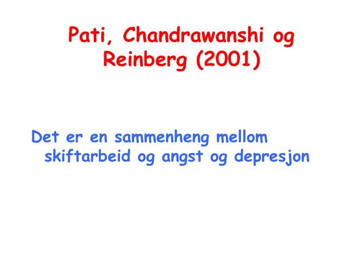 Pati, Chandrawanshi og Reinberg (2001)