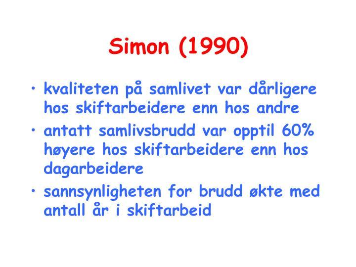 Simon (1990)