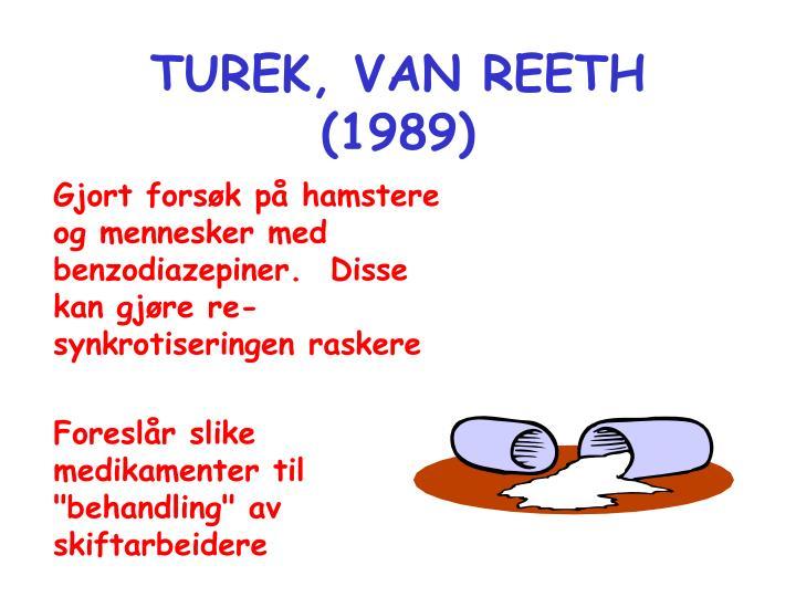 TUREK, VAN REETH (1989)