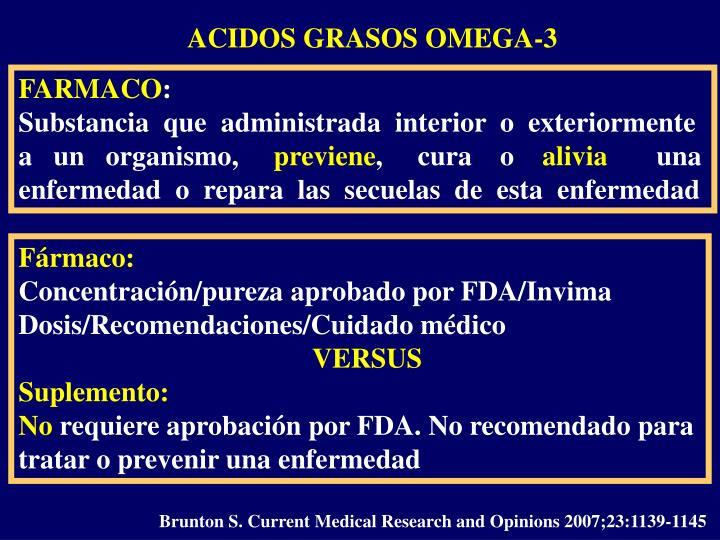 ACIDOS GRASOS OMEGA-3