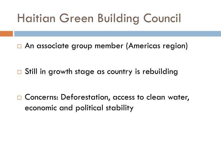 Haitian Green Building Council