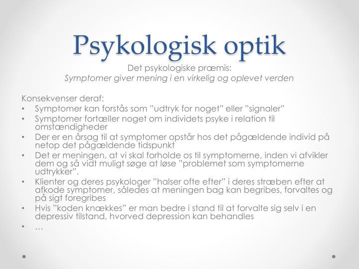 Psykologisk optik