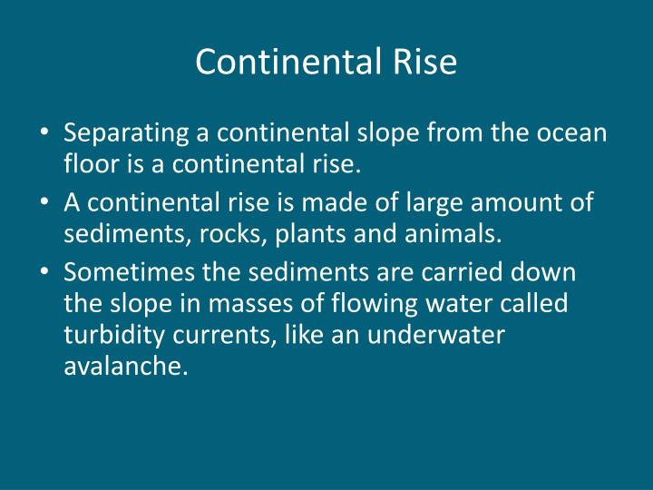 Continental Rise